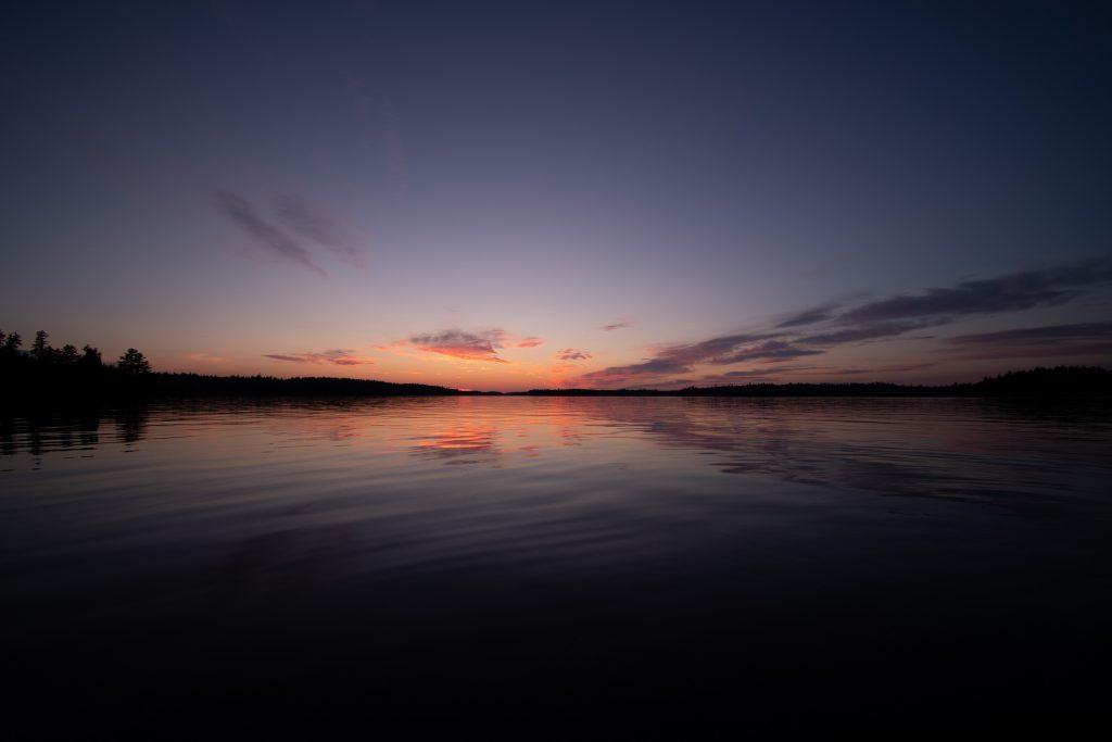 sunset Quebec