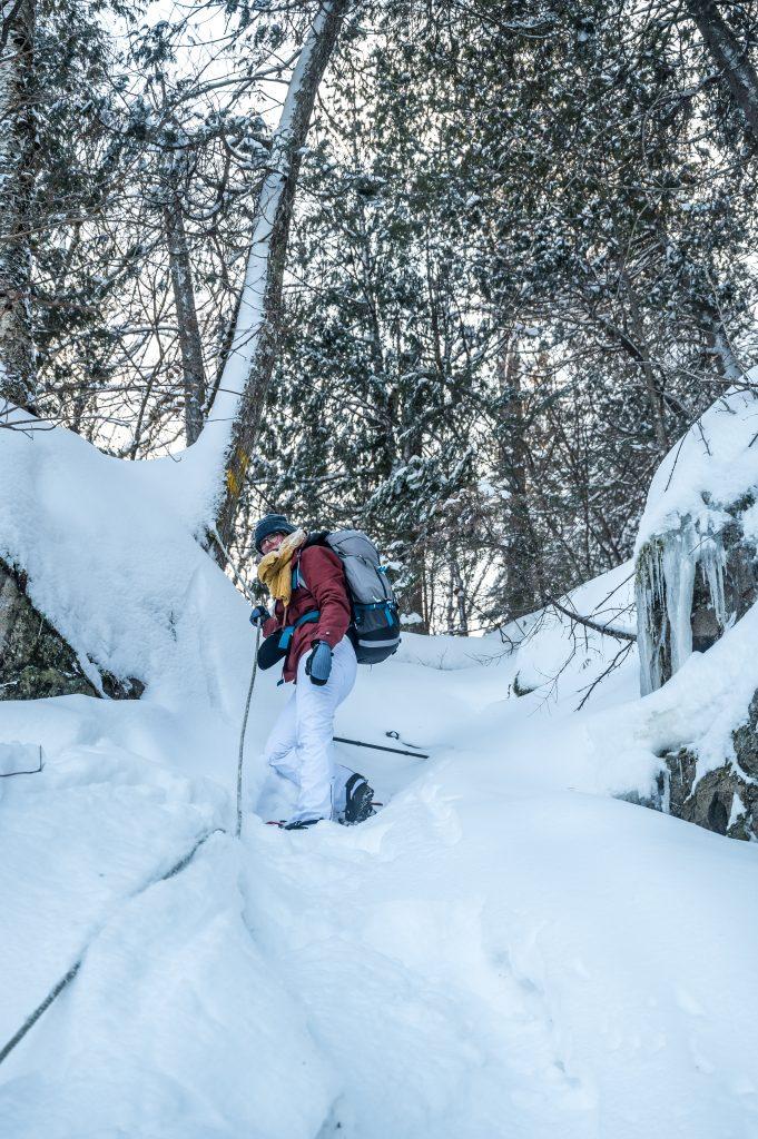 randonnée hiver québec
