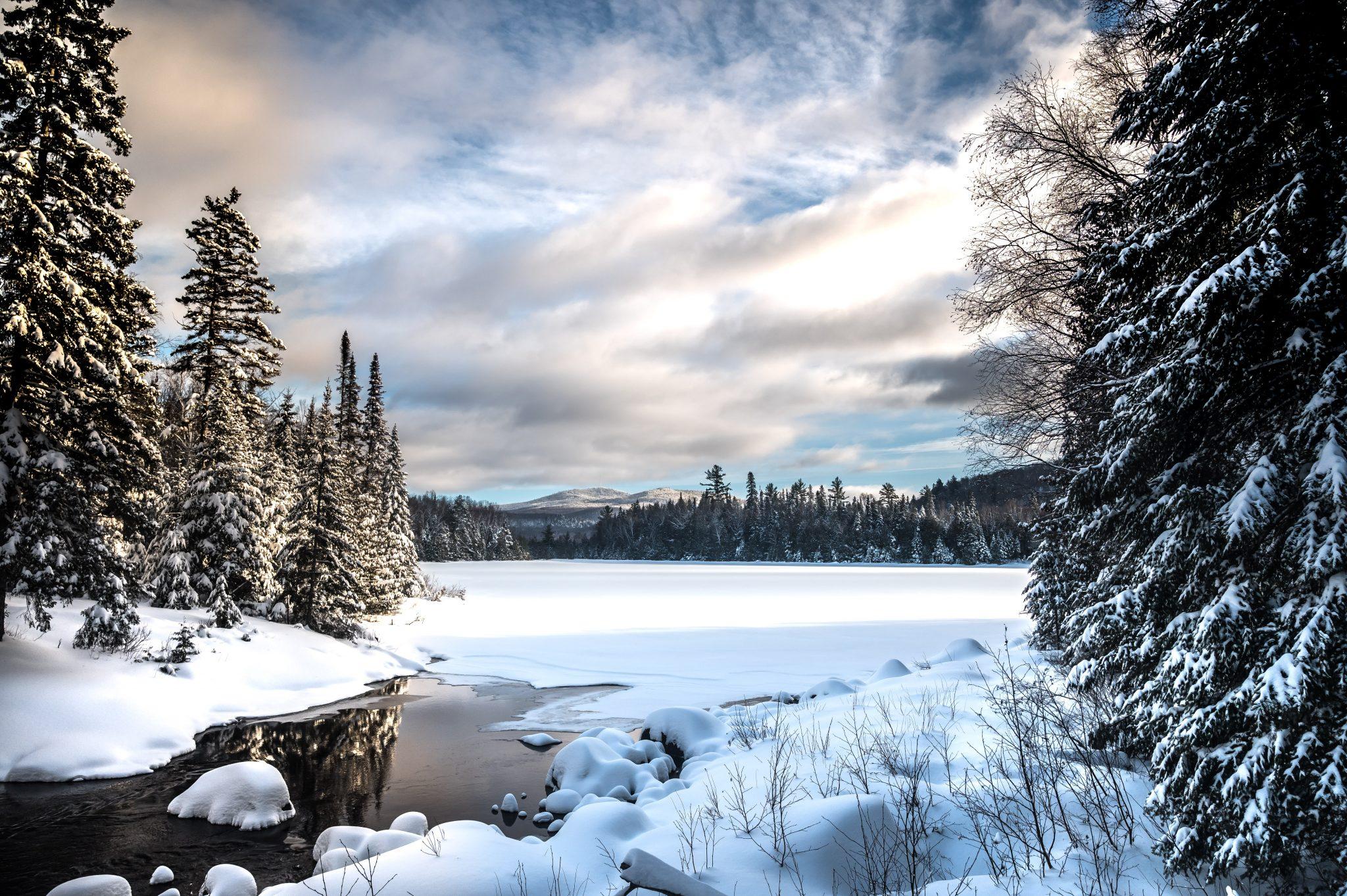 randonnée hiver