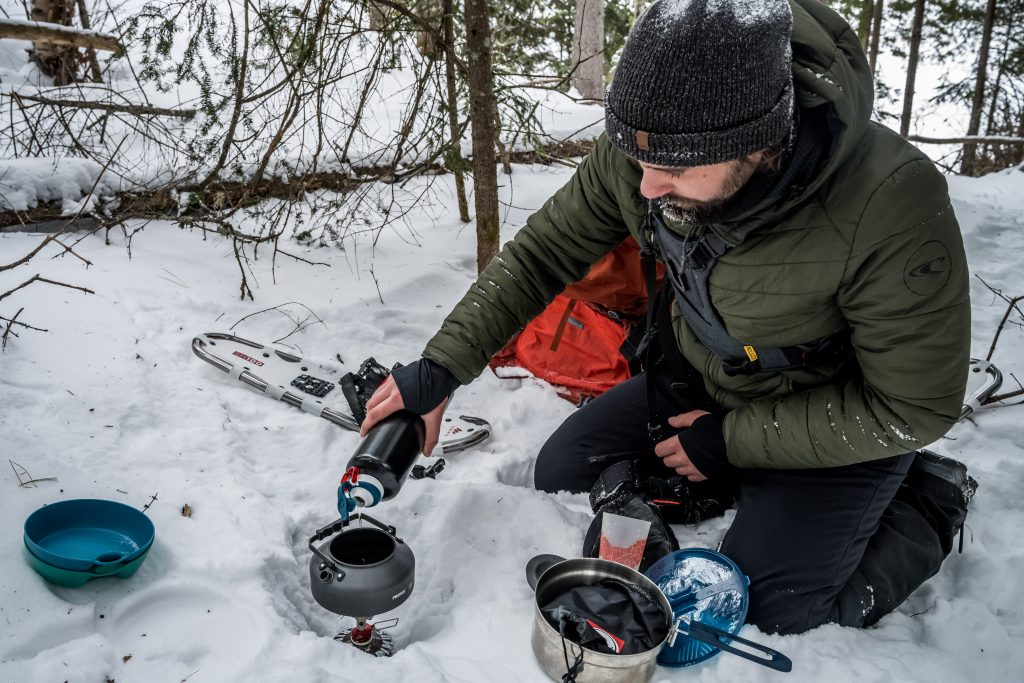 camping hiver équipement