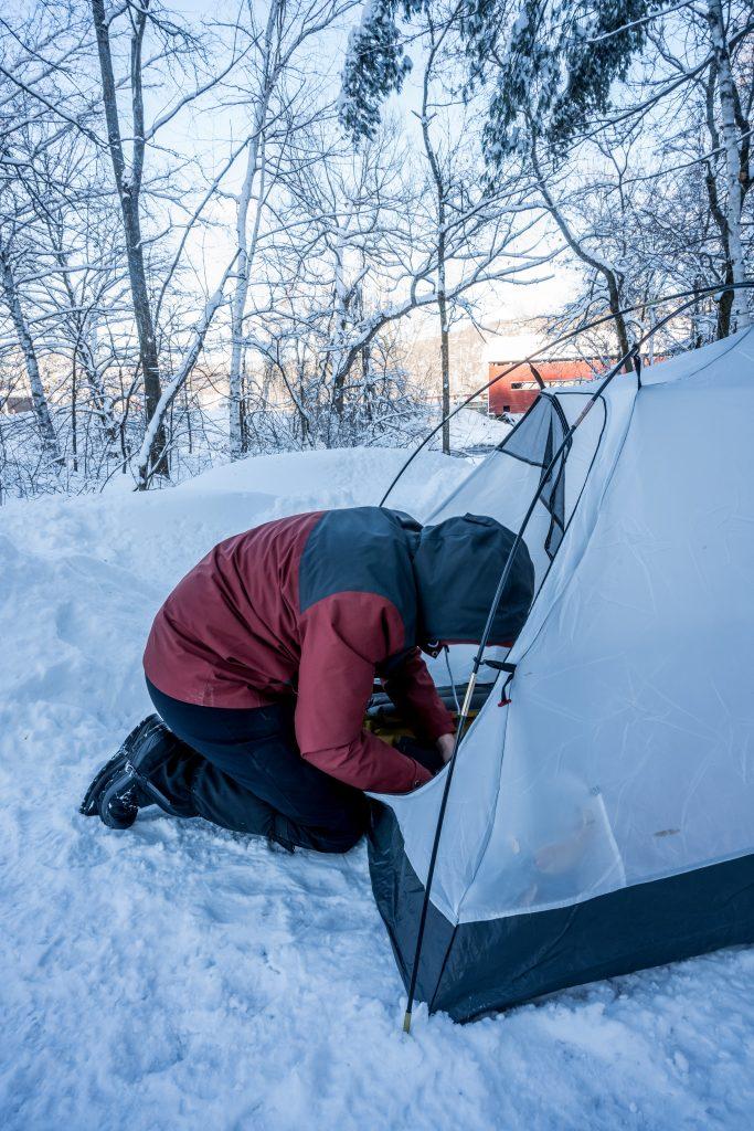 tente hiver