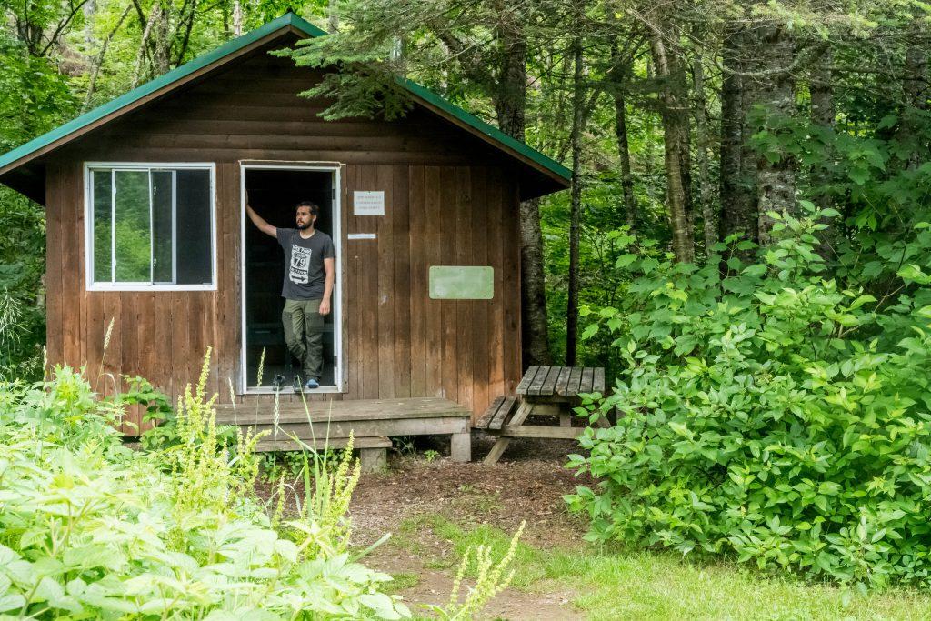 camp rustique balbuzard