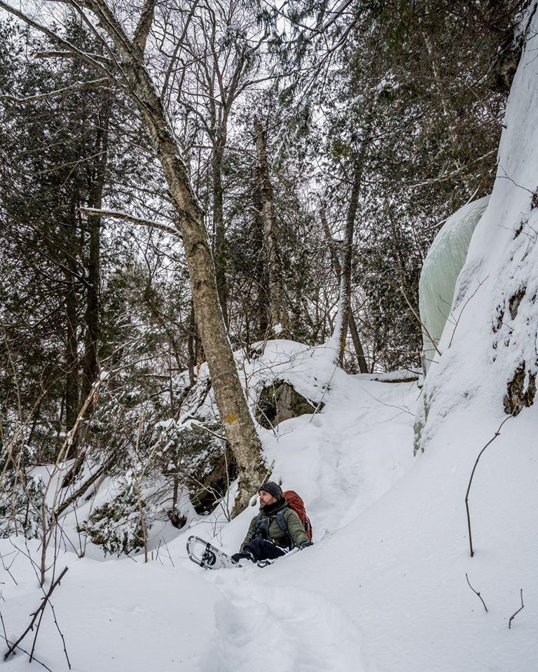 randonnée hiver laurentides