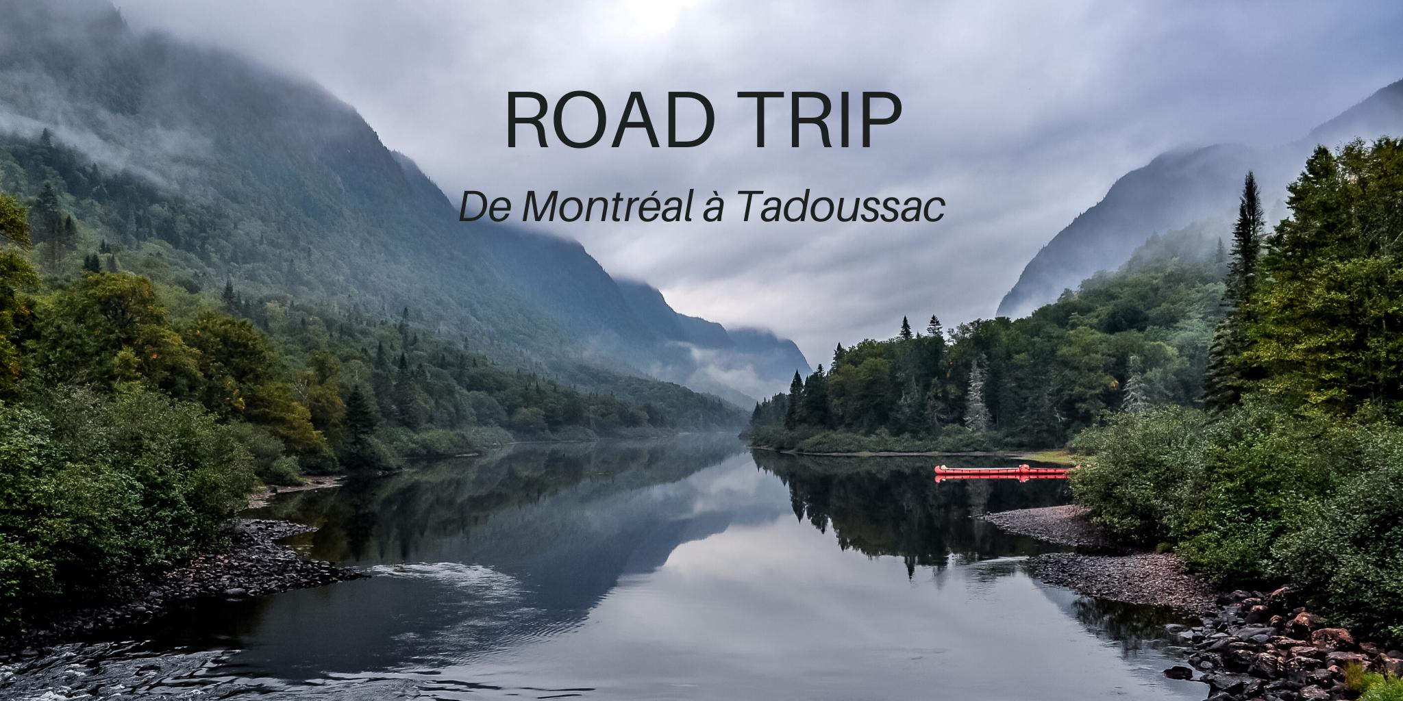 Jacques Cartier road trip