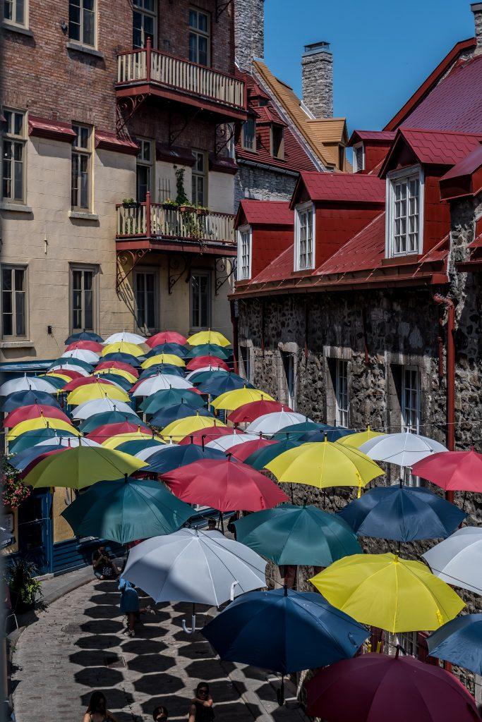 parapluies rue du Cul-de-Sac