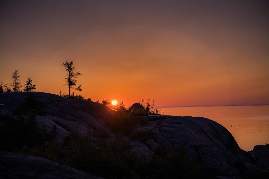 camping mer et monde Sunrise