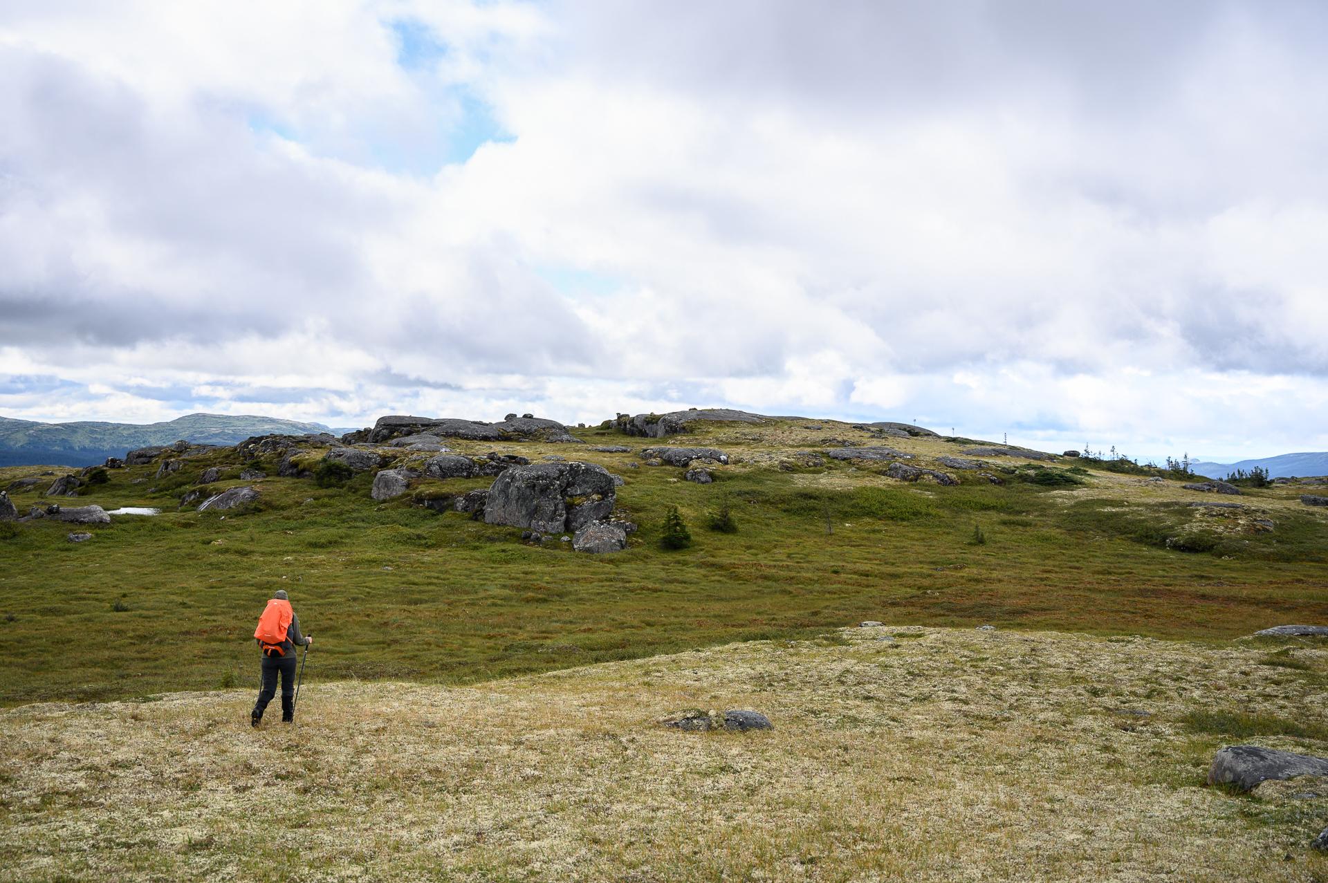 traversée monts Groulx