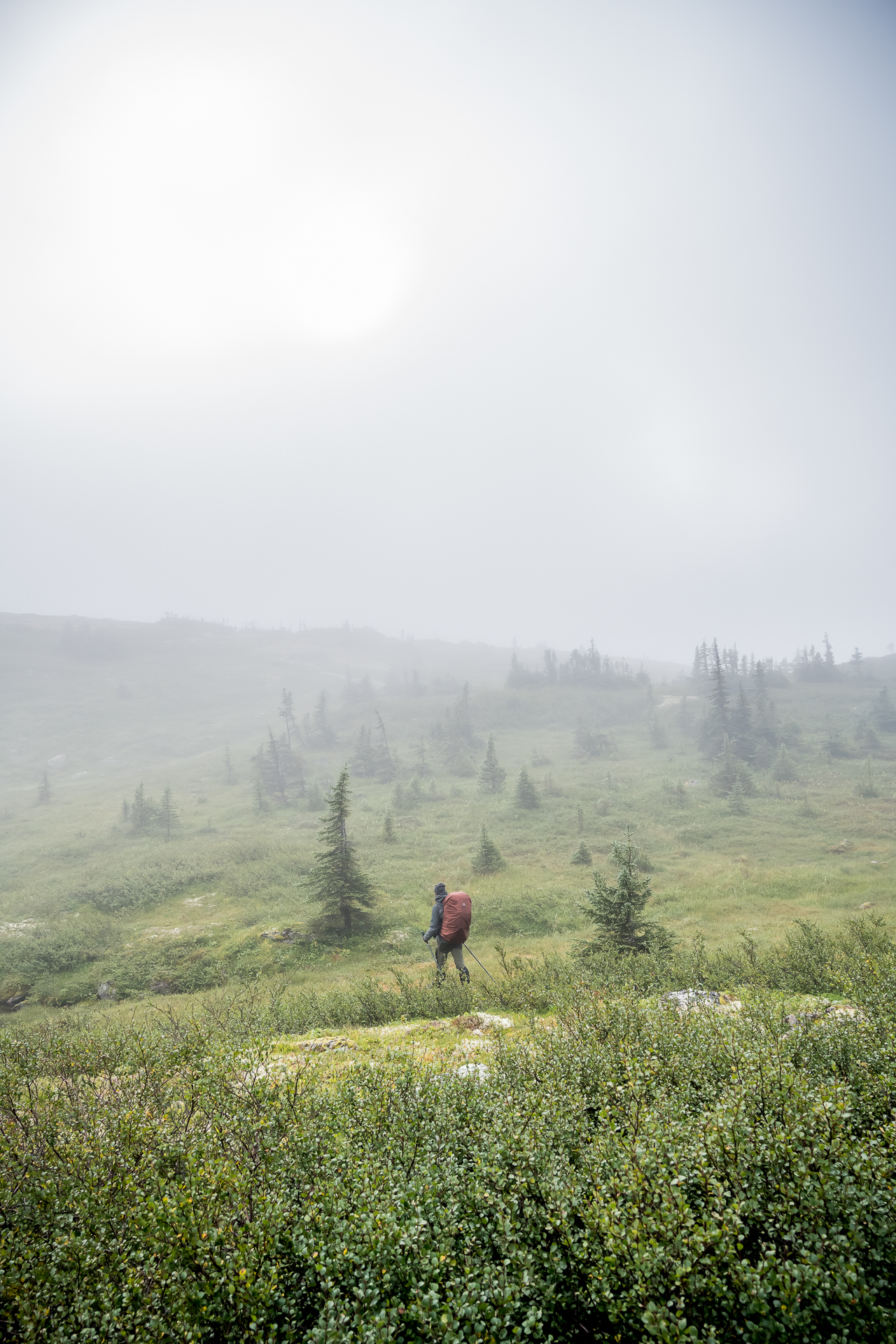 brouillard monts Groulx