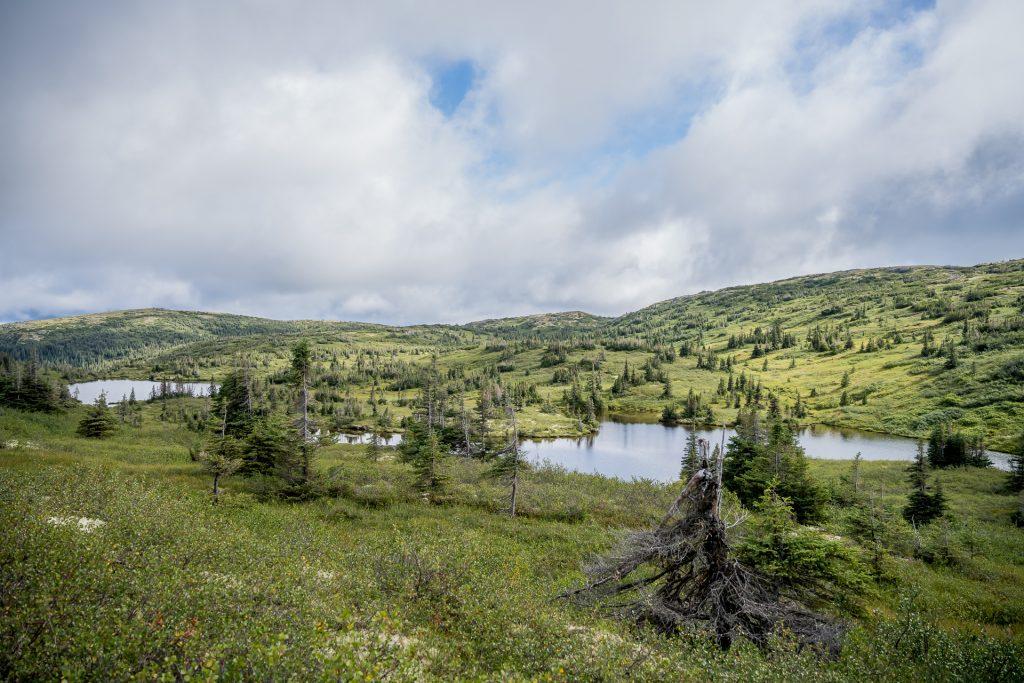 lac monts Groulx