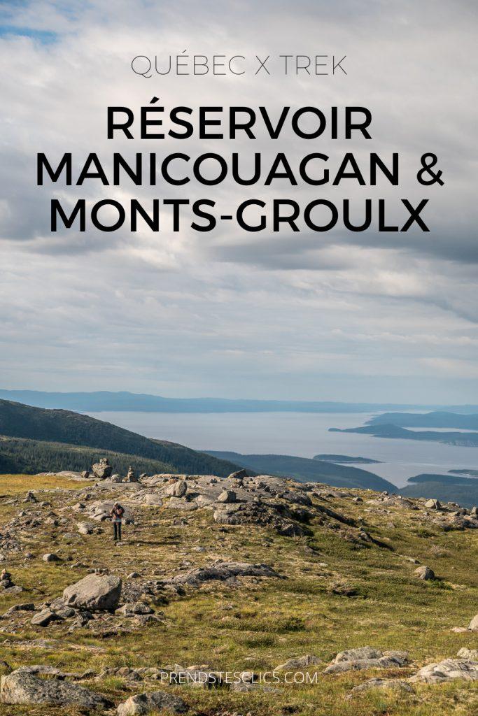traversée des Monts-Groulx