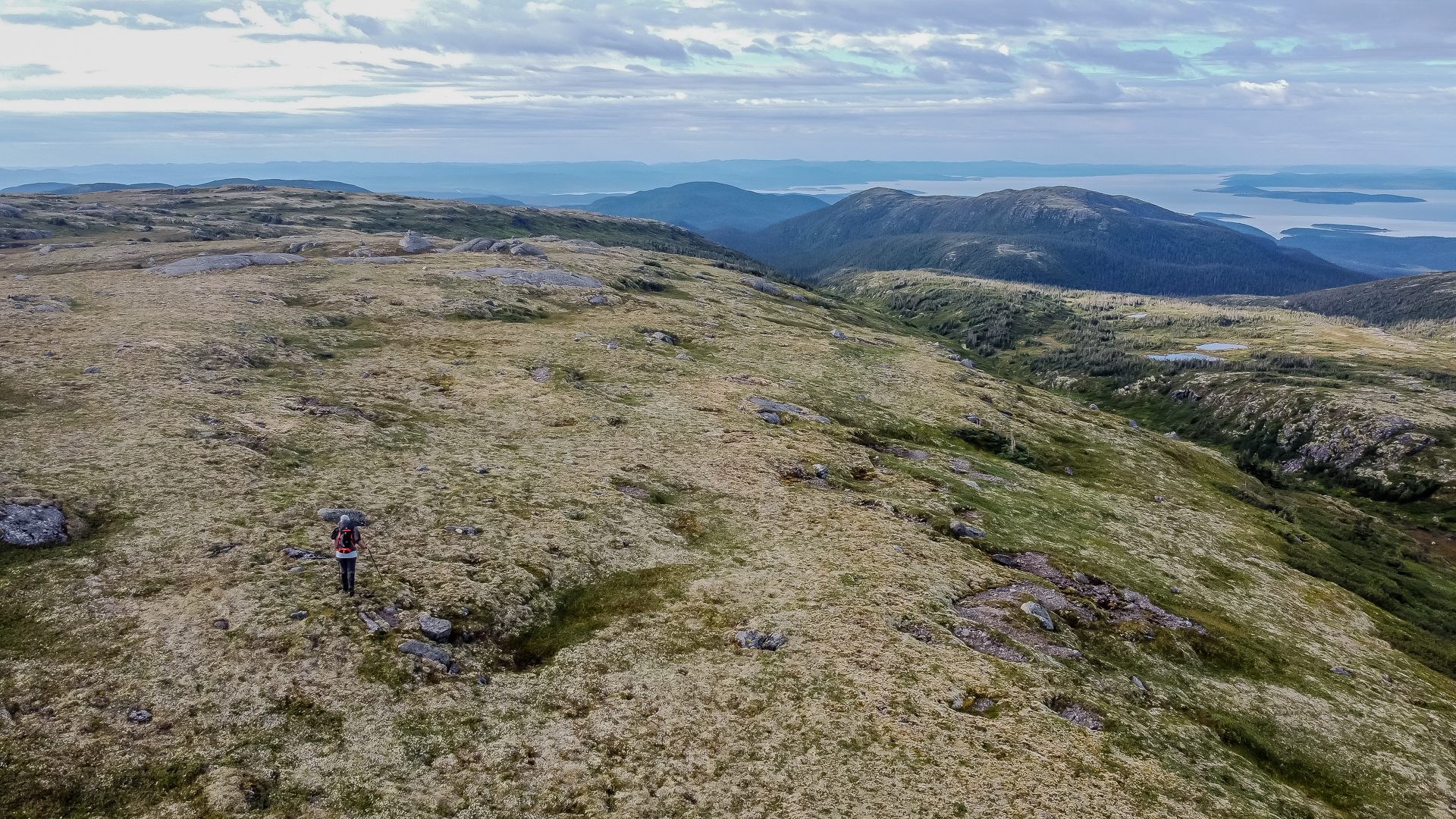 massif Provencher traversée des Monts-Groulx