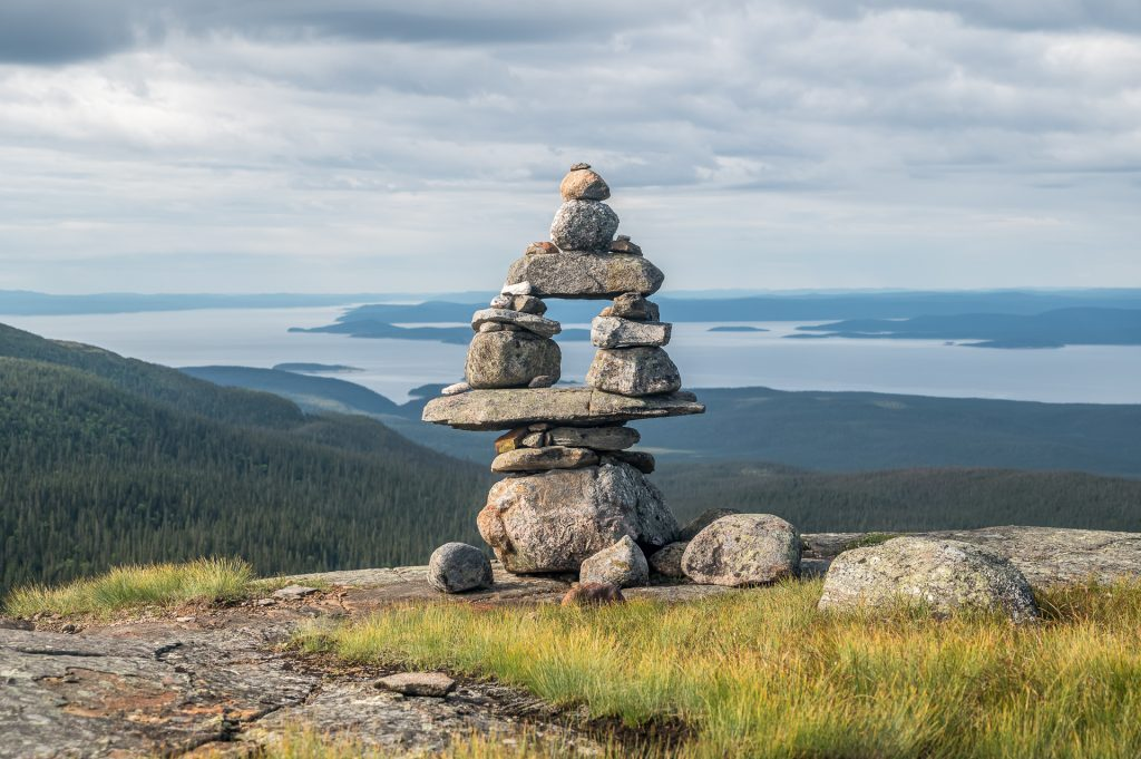 massif Provencher cairns