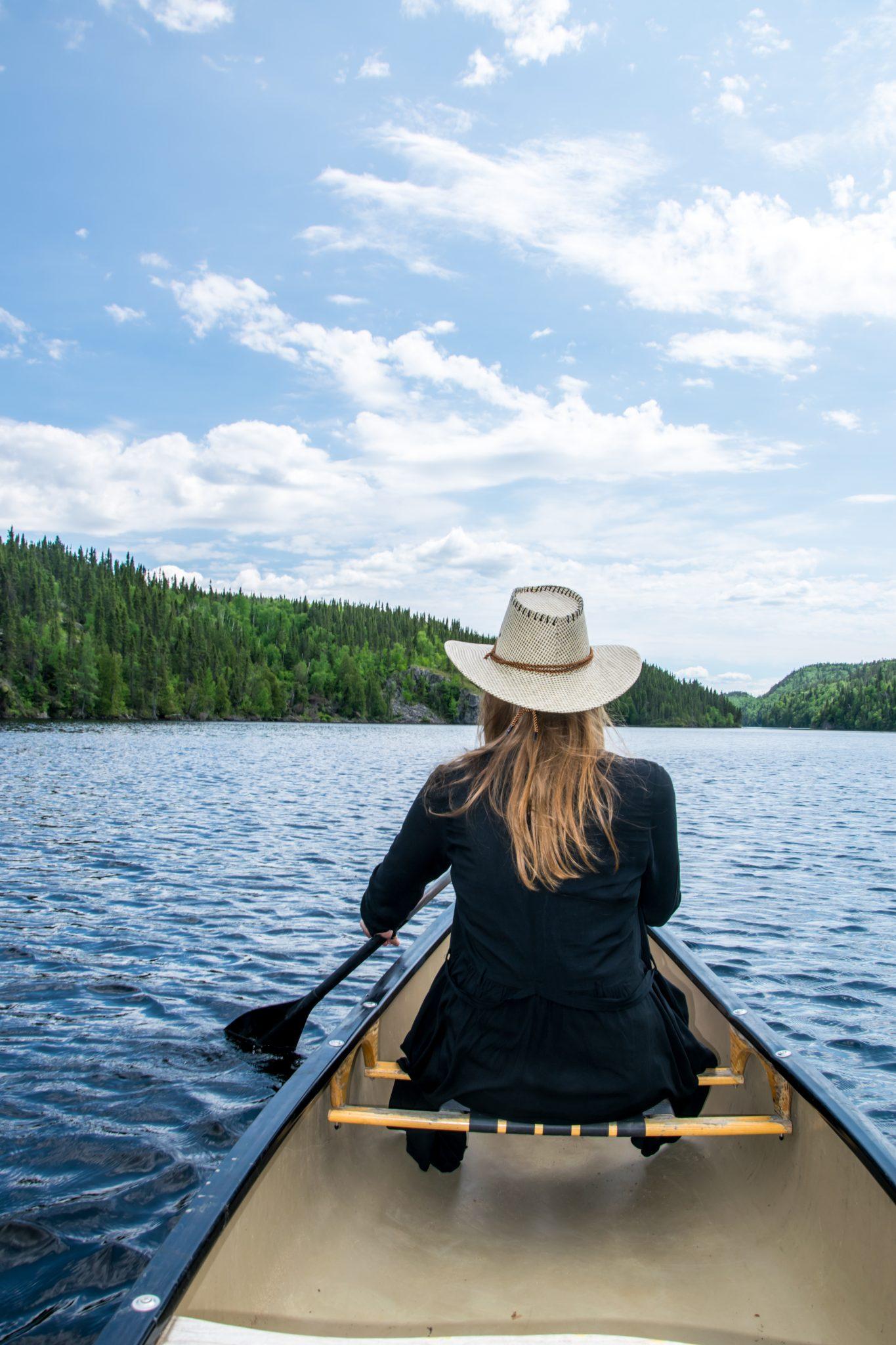 canoe femme
