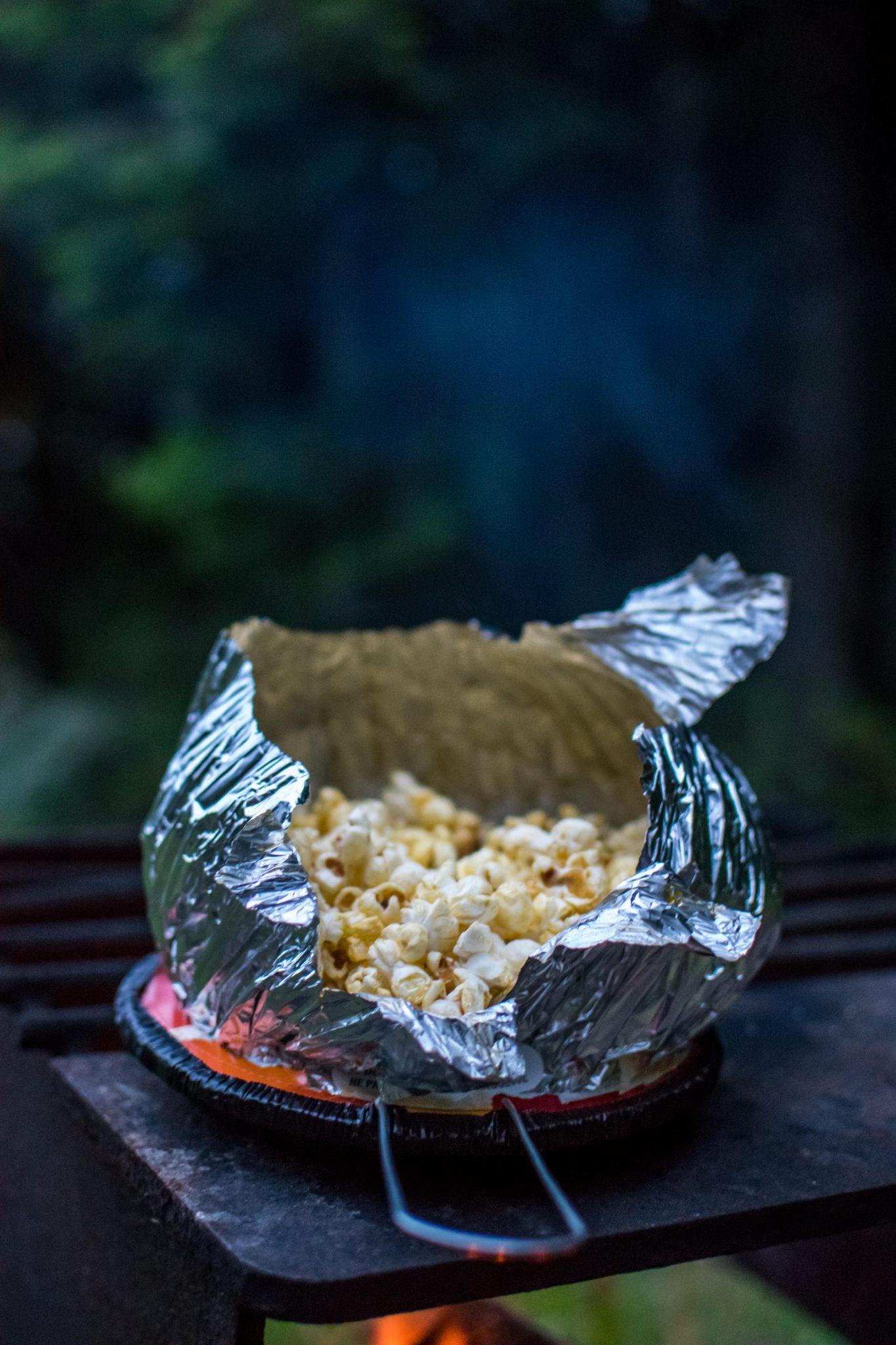 maïs feu de camp