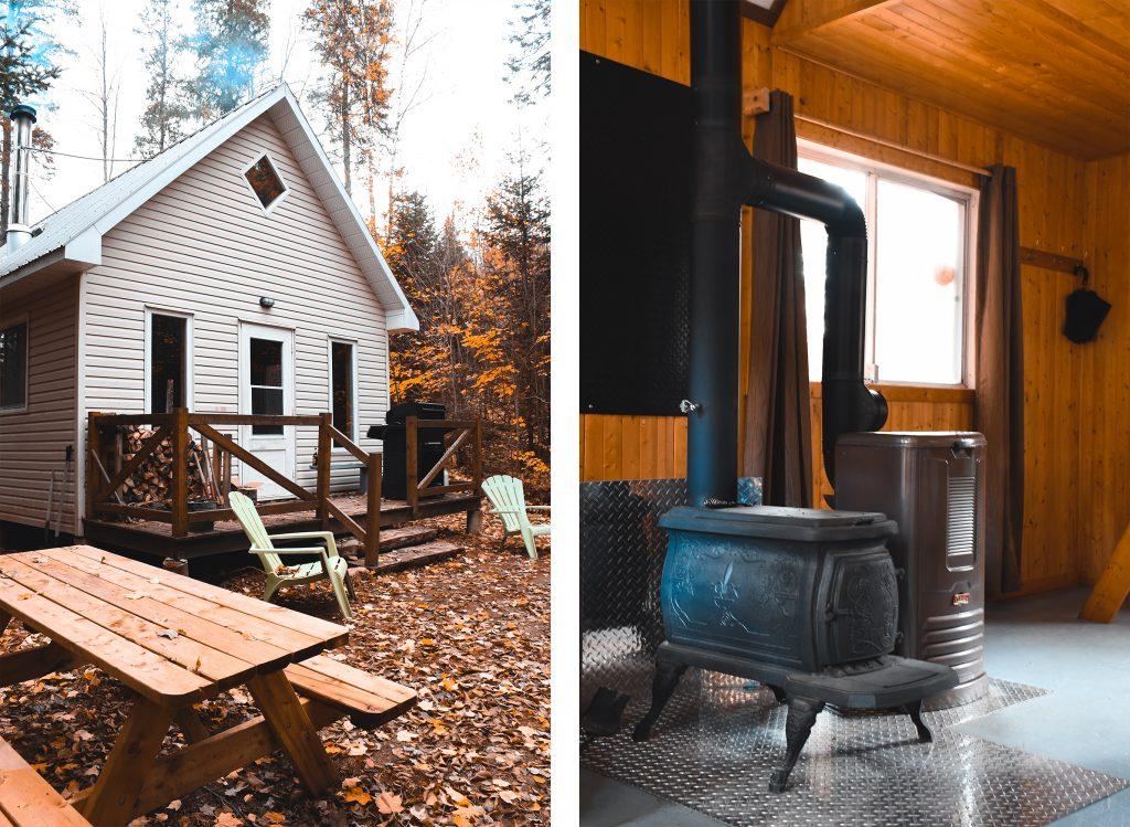 cabines nordik des piles