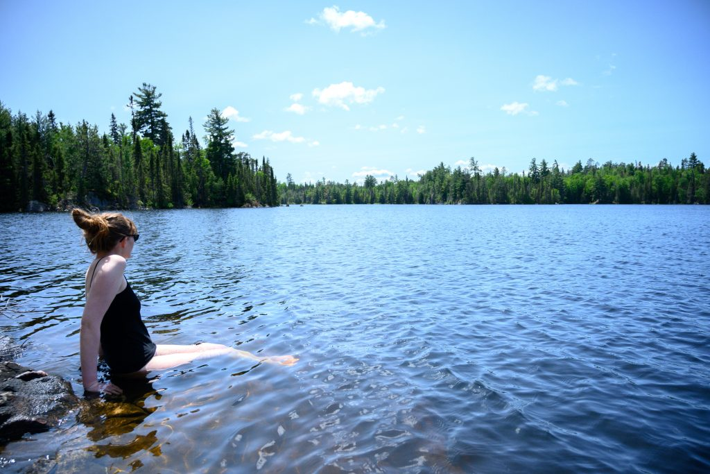 baignade lac