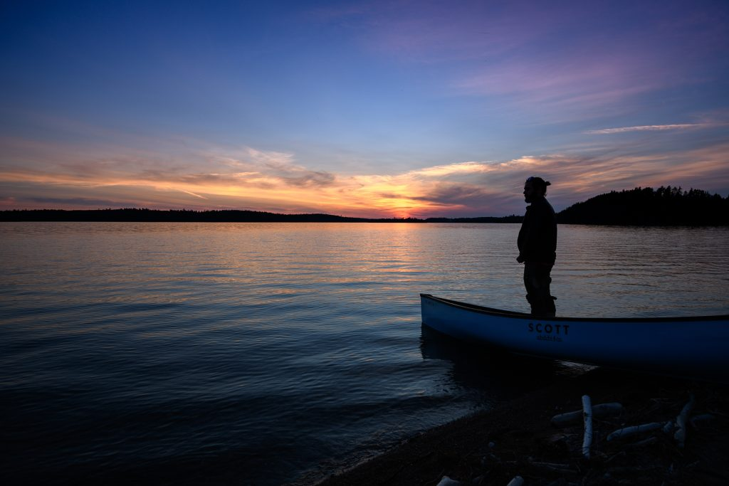 sunset Abitibi
