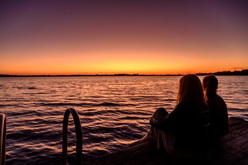 sunset friends Florida