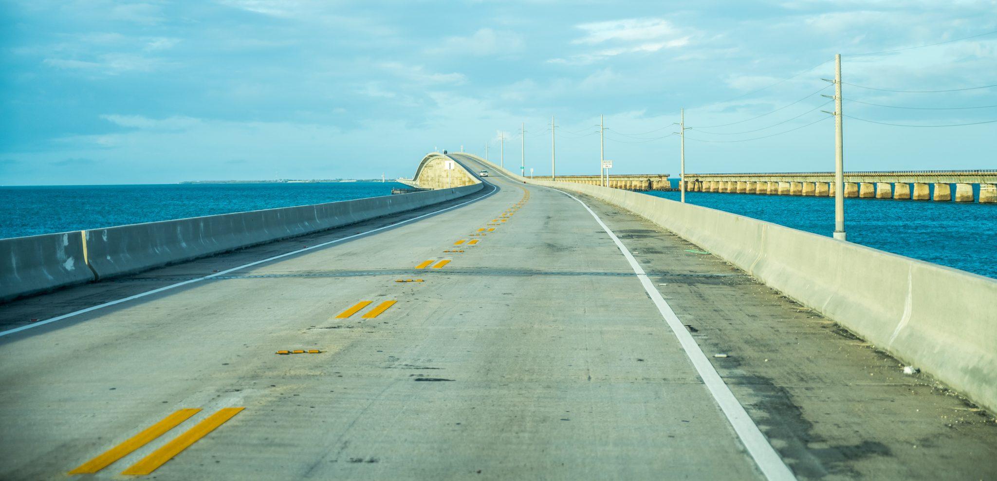 Overseas Highway road trip floride