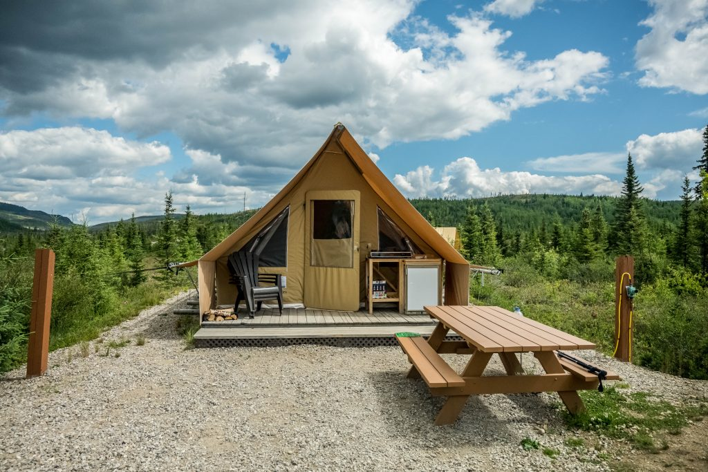 camping secteur Arthabaska