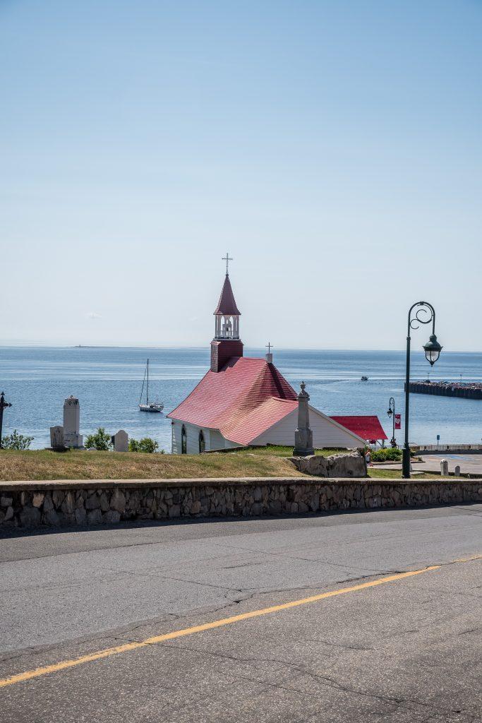 église Tadoussac road trip Québec
