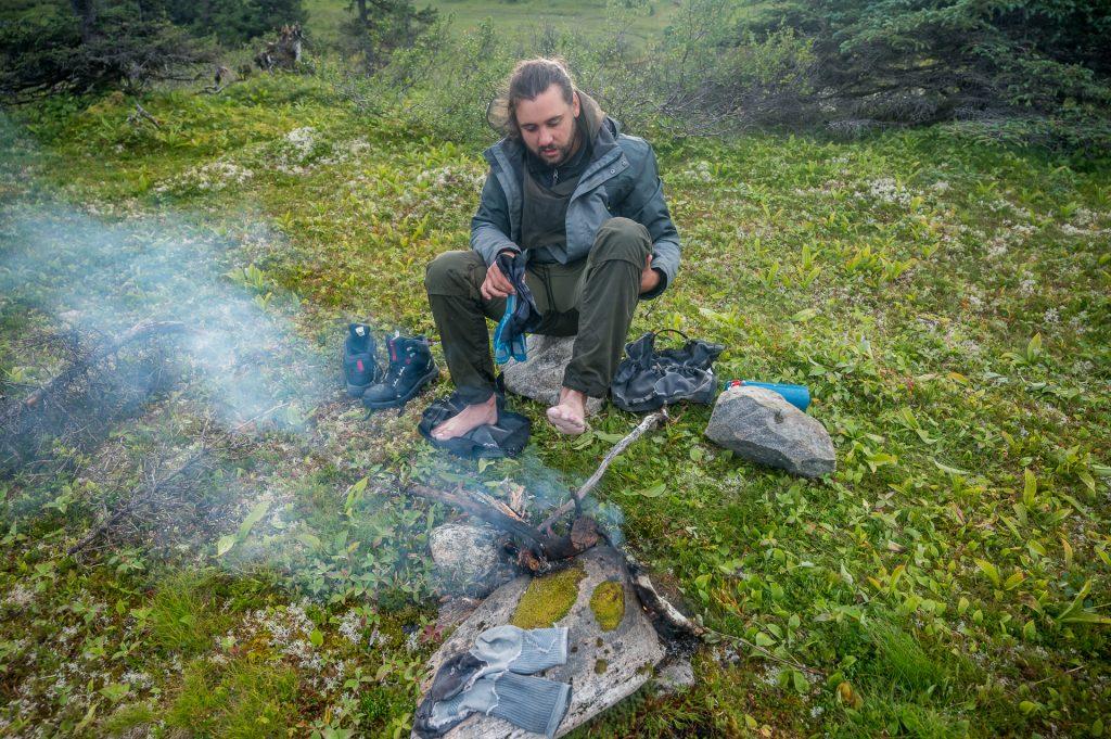 campement mont Groulx